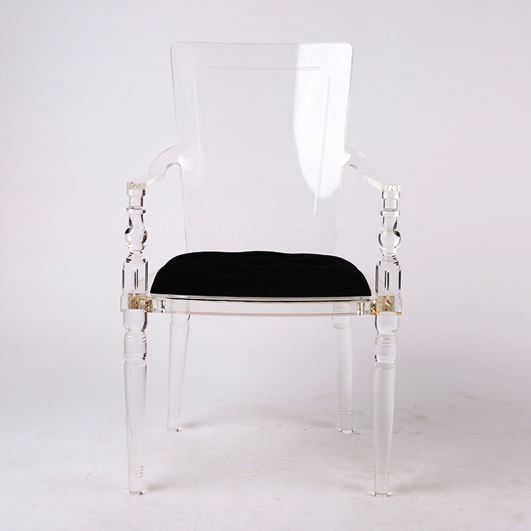 High Quality Acrylic Chair with Padded Seat