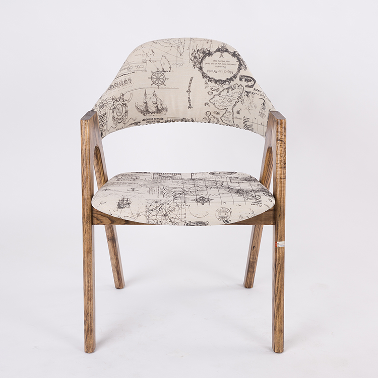Ashwood Pu Cushion Chair
