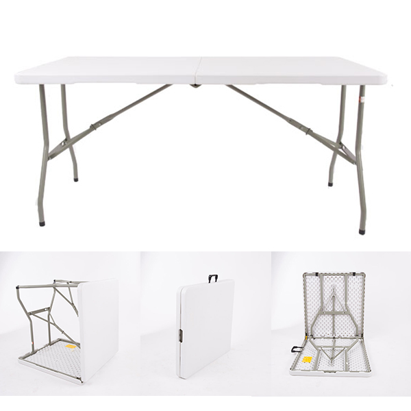 Plastic Rectangle Folding Table